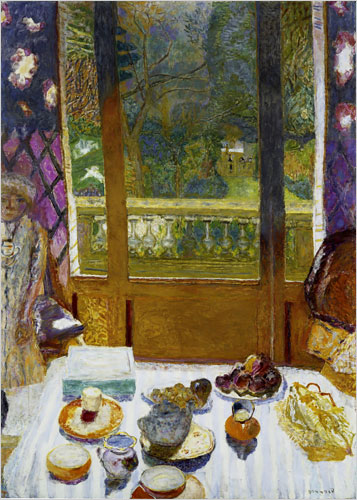 "Pierre Bonnard's ""Dining Room Overlooking the Garden (The Breakfast Room),"" 1930-31"