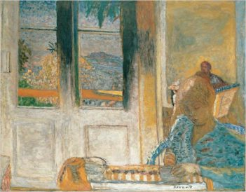 art: Pierre Bonnard  title: The French Window