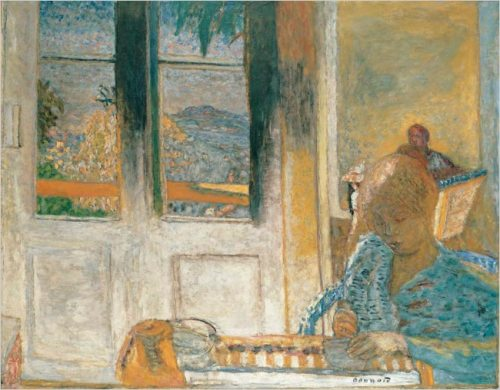 "Pierre Bonnard's ""The French Window (Morning at Le Cannet),"" 1932"