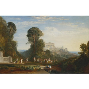 J.M.W. Turner's The temple of Jupiter Panellenius Restored