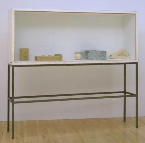 How do you conserve nontraditional materials, such as Joseph Beuys' Untitled (Vitrine),1983, which includes objects made from fat, beeswax, pork drippings, and tallow?