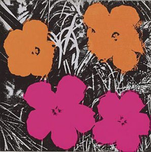 "Andy Warhol's ""Flowers"" (1964) was estimated at $500,000–700,000 and sold for sold for $1,082,500.  Via ARTINFO"